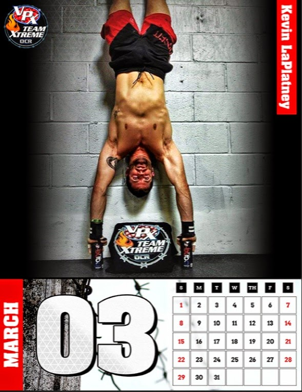 It's here!  The 2015 VPX Team Xtreme OCR Calendar!