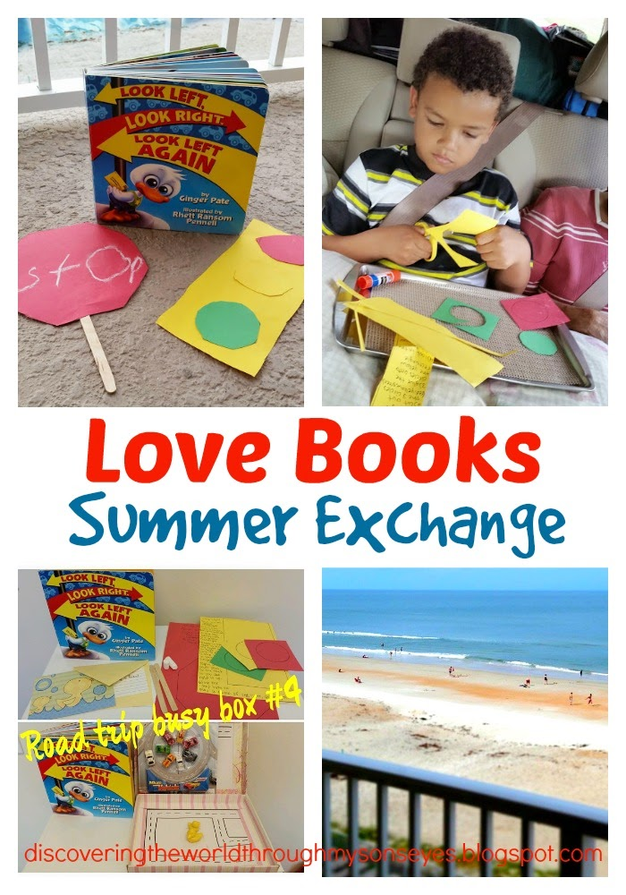Summer Book Exchange Look Left,Look Right, Look Left Again ...