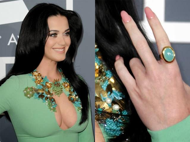 Unhas decoradas nailart Katy Perry