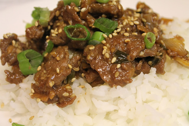... Riches to Rags* by Dori: BBQ Korean Beef - Adapted from Korean Bulgogi