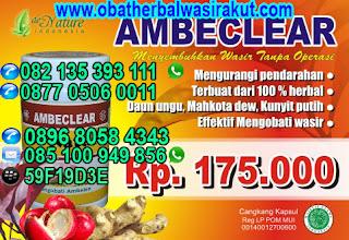 Obat Wasir Ambeien tanpa Operasi