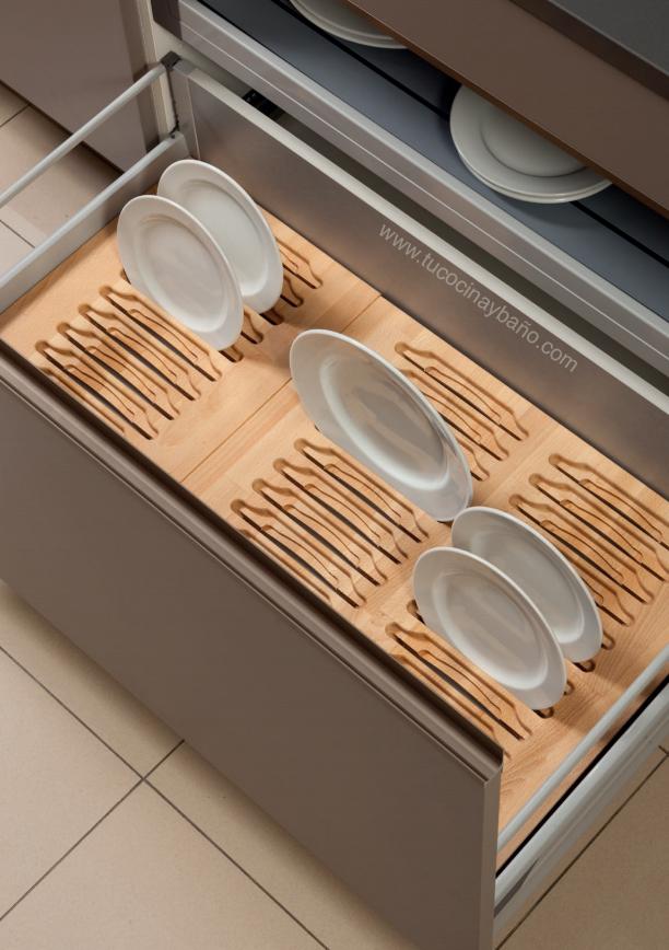 portaplatos cajon gavetero | tu Cocina y Baño