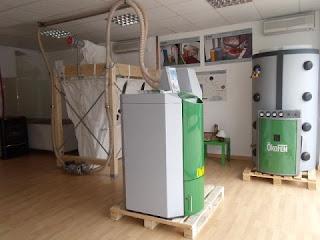 local calor verde biomasa