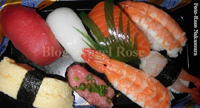 culinária japonesa sushis