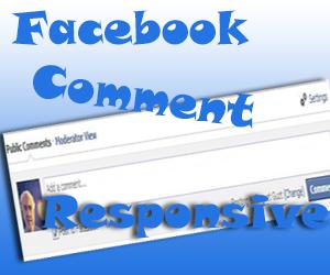 Cara Memasang Komentar Facebook Responsive di Blog