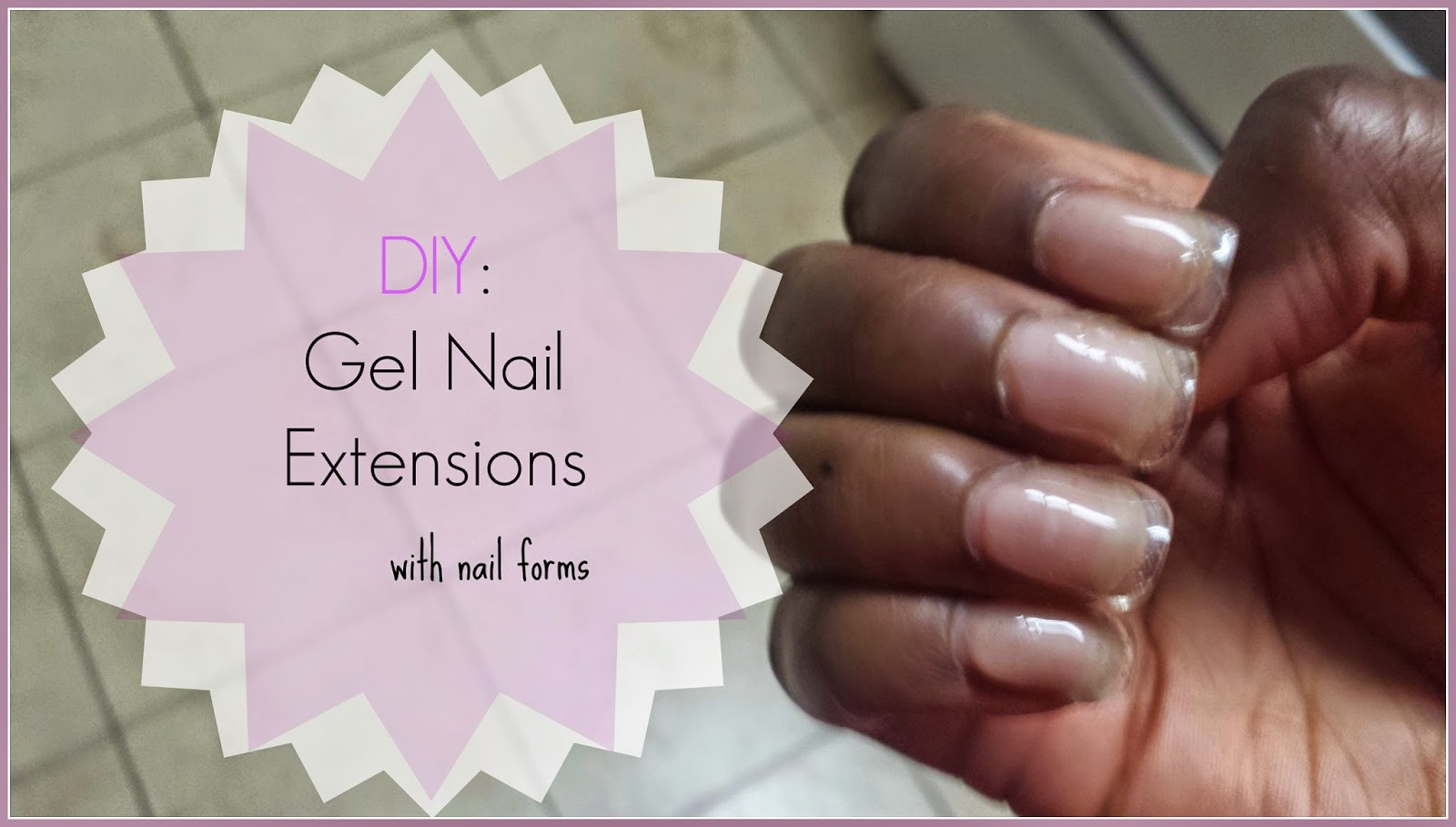 Hypnotic Glamour Beauty Blog: Gel Nail Extensions with Nail Forms + ...