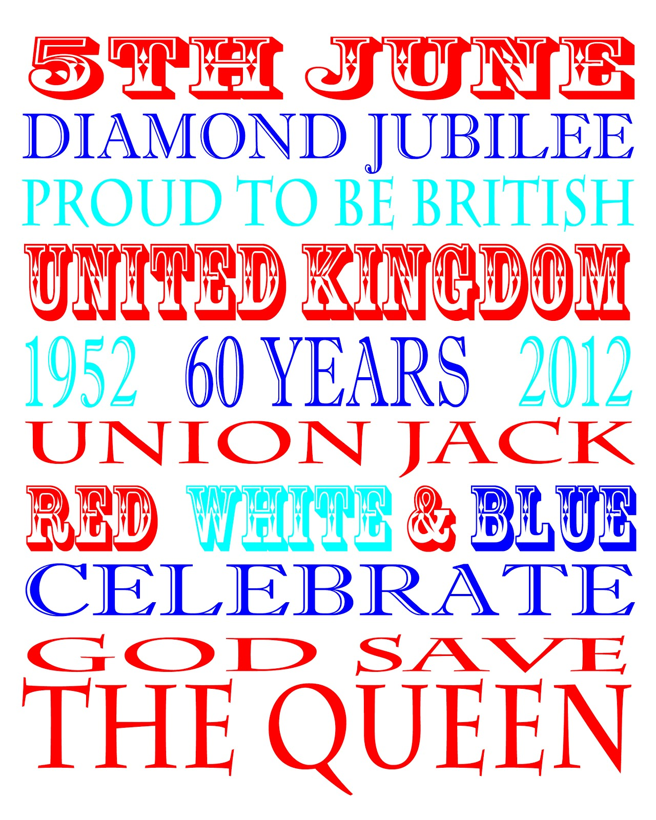 yvonne byatt u0027s family fun queen u0027s diamond jubilee ideas