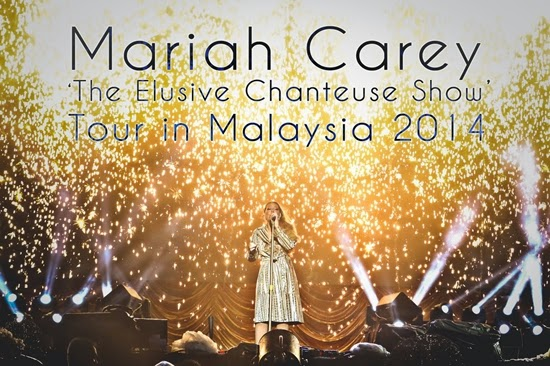 UPDATE!! Foto Konser Mariah Carey Di Kuala Lumpur 2014 Part 1