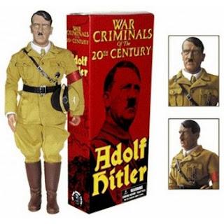 Muñeco de Adolf Hitler