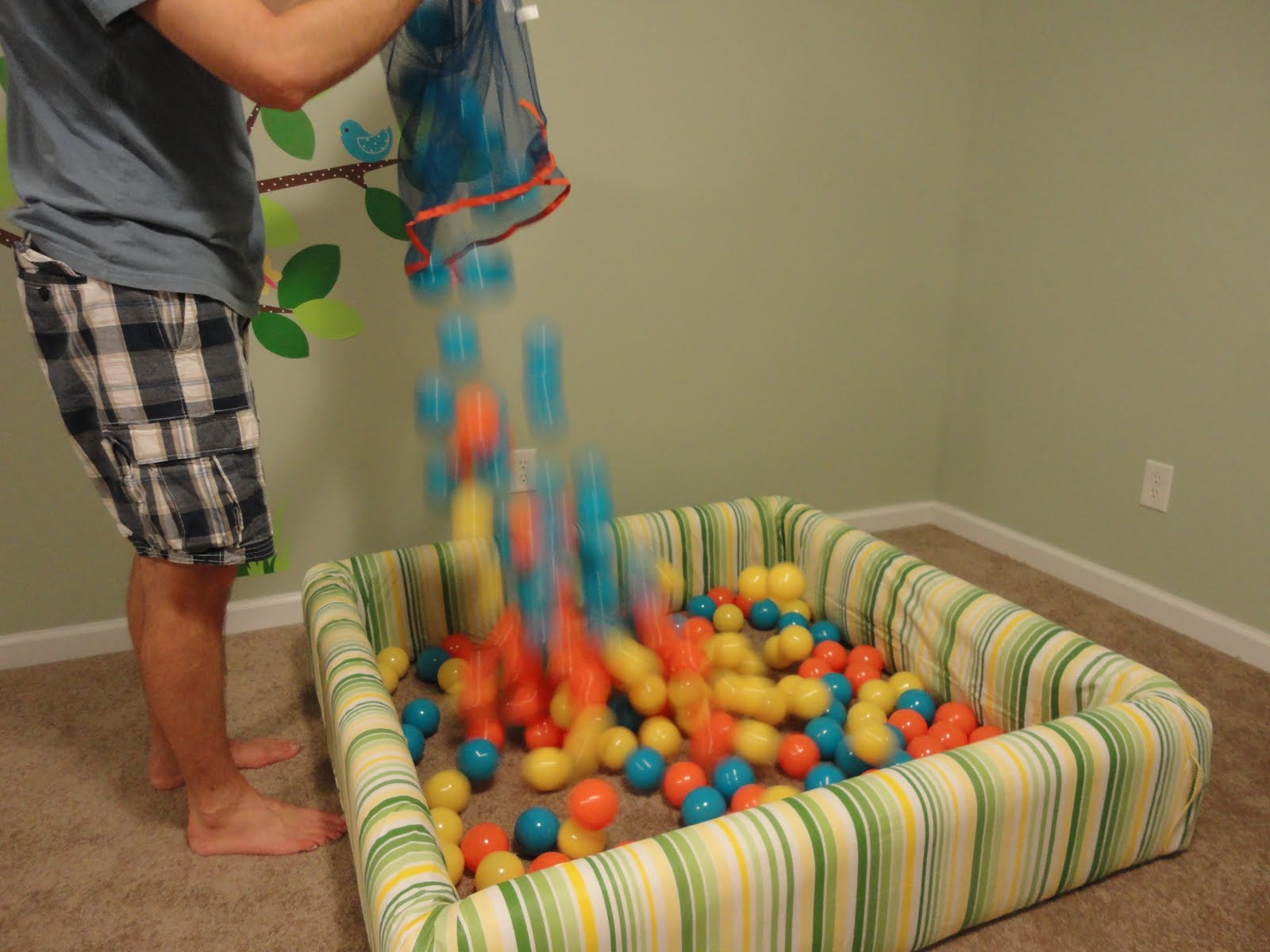 Our Life How To Build A Ball Pit