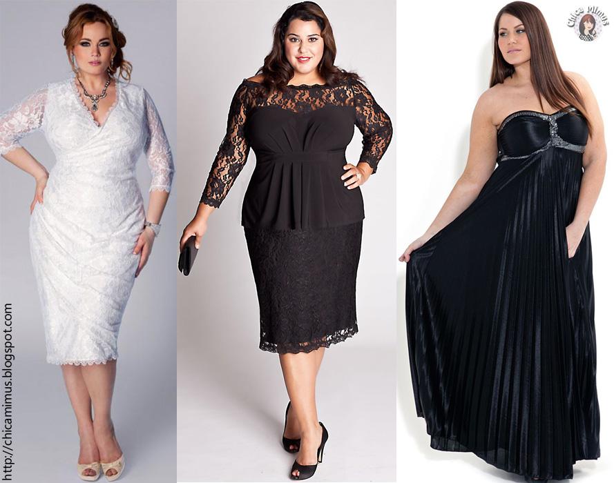 Moda: vestidos de festa plus size (para gordinhas)