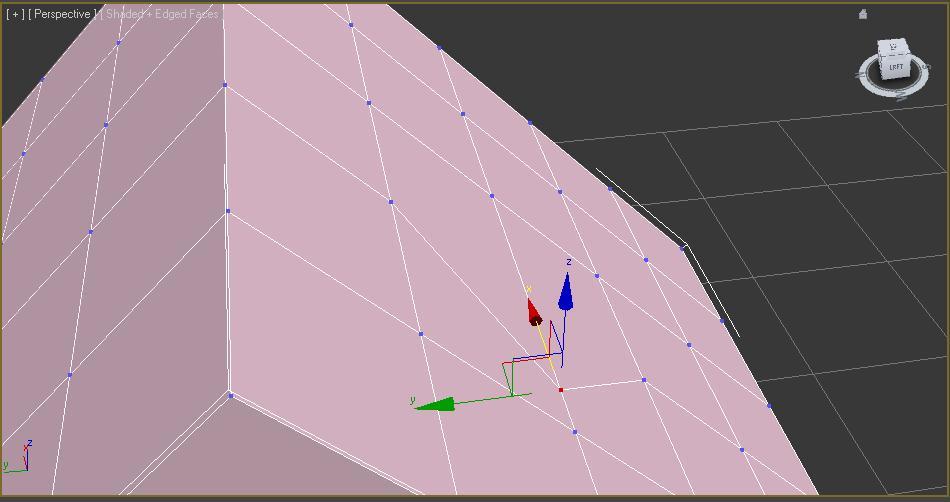 Moviendo vértice de la caja usando edge en constraints