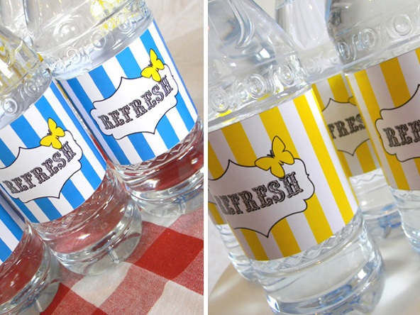 How To Make Custom Water Bottle Labels - Bachelorette water bottle label template