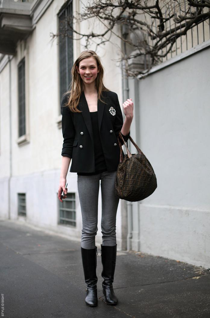 SERENDIPITY IS LIFE Karlie Kloss Street Style