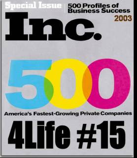 Inc 500 4Life