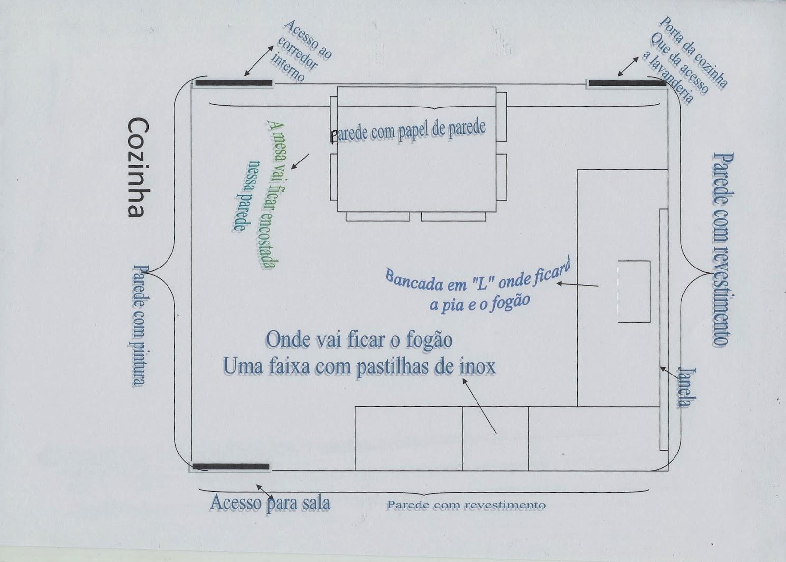 Projetos: Cozinha Parte 1 #566475 1600 1145