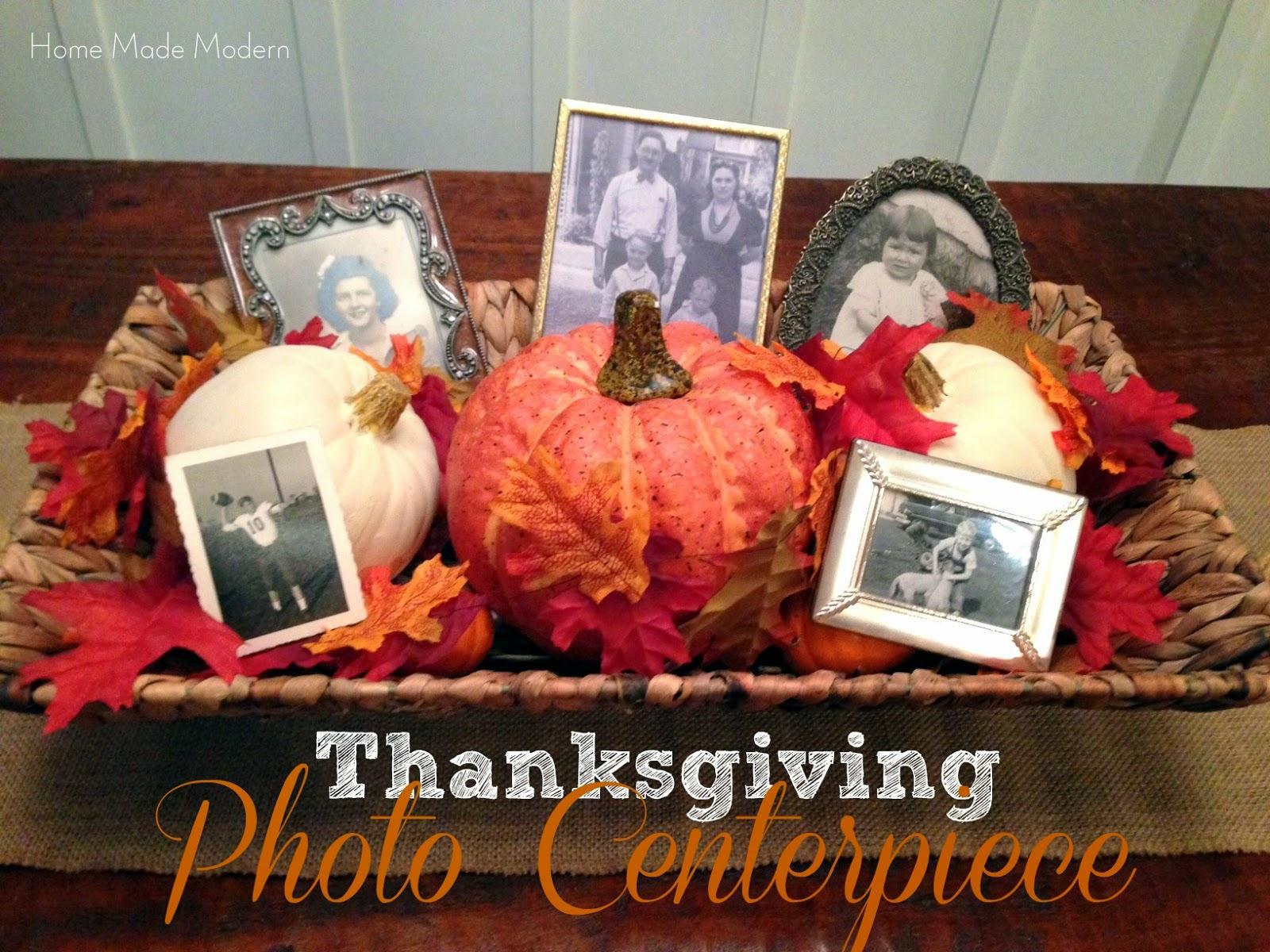 Home made modern centerpiece ideas for thanksgiving for Centerpiece ideas for thanksgiving to make