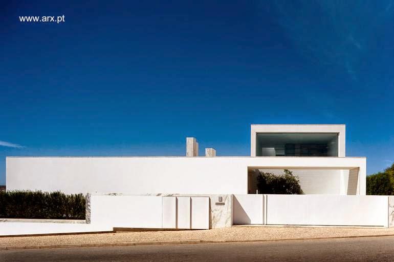 Residencia contemporánea minimalista en Martinhal, Algarve, Portugal