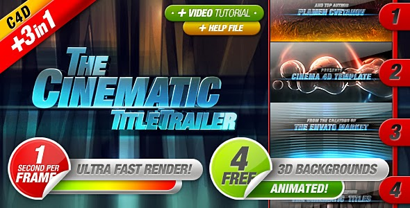 VideoHive Cinematic Titles 3 in 1