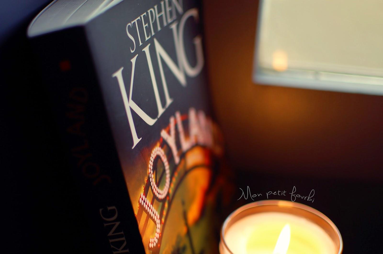 "Livre ""Joyland"" de Stephen King"