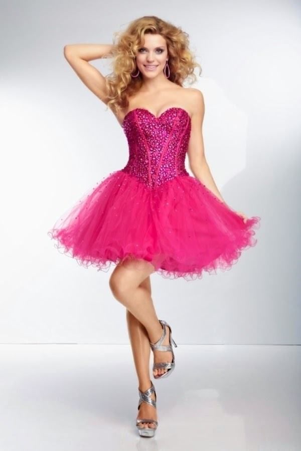 Short Fun Prom Dresses - Holiday Dresses