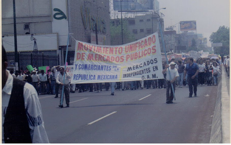 MOVIMIENTO UNIFICADO DE MERCADOS (MUM) MARCHANDO VS DE LOS IMPUESTOS ALTOS 1997