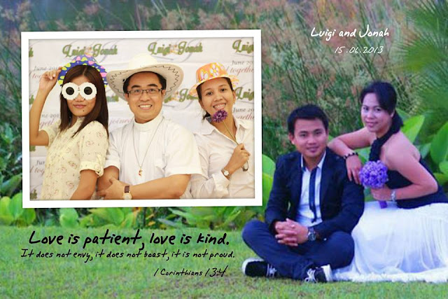 pre-wedding shot and words