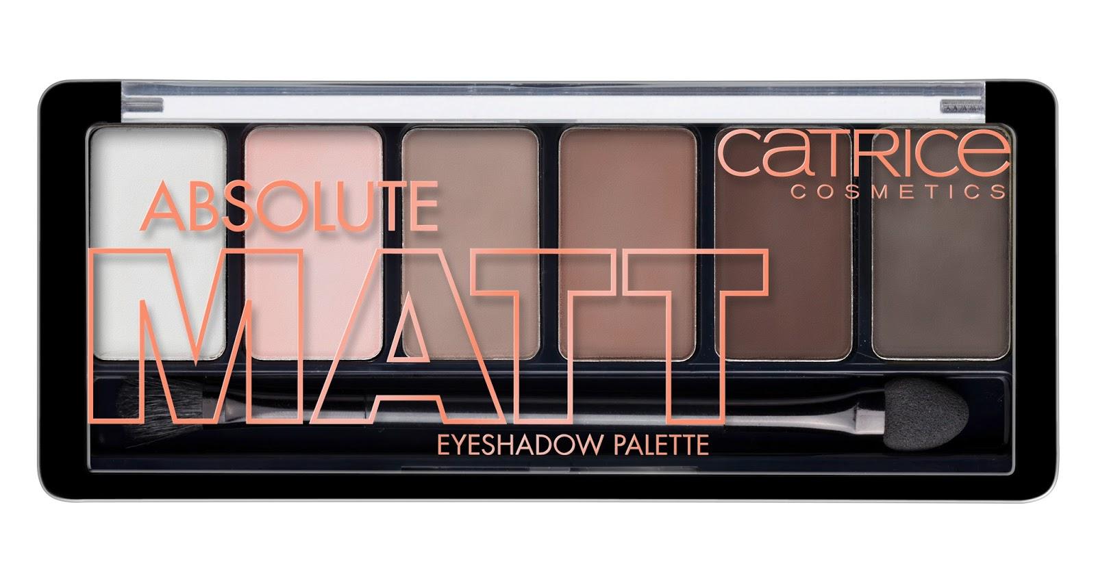 Catrice - Absolute Matt Eyeshadow Palette