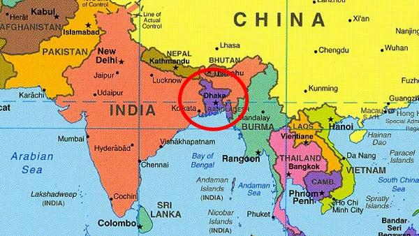 Asia en fragmentos independencia en bangladesh 1971 1972 for Bengala asia