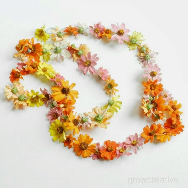 Fresh Flower Garland Tutorial