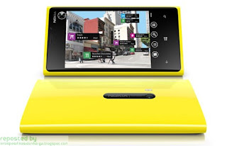 Spesifikasi Nokia Lumia 920 Ponsel Terbaru 2012