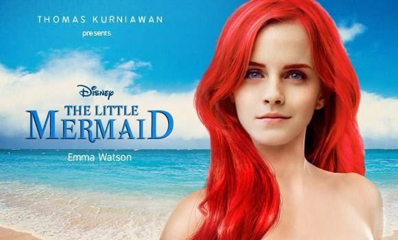 Ariel - Little mermaid - Emma watson