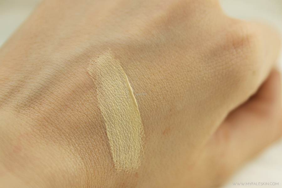 l'oreal paris, la touche magique, concealer, pale skin, pale test, swatch, review, pale skin, my pale skin, em ford, concealer, foundation, best, worst, swatch, ivory beige