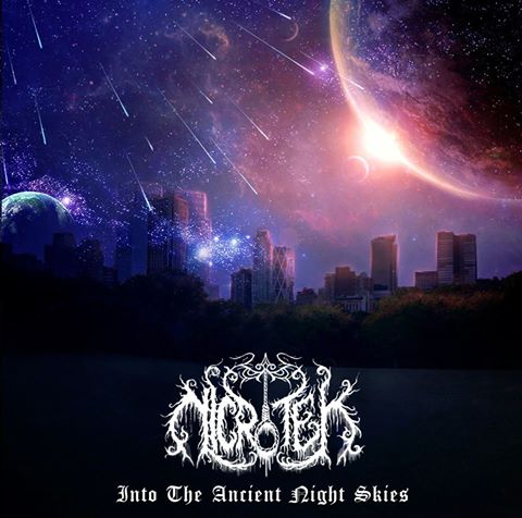 Into the Ancient Night Skies, Nicrotek One Man Black Metal Band from Surabaya Indonesia, Indonesian One Man Black Metal