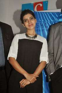 Actress Samantha Latest Pictures at Big C Mobiles Launches Nokia Lumia 1320  0026