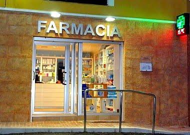 Farmacia de Benilloba.