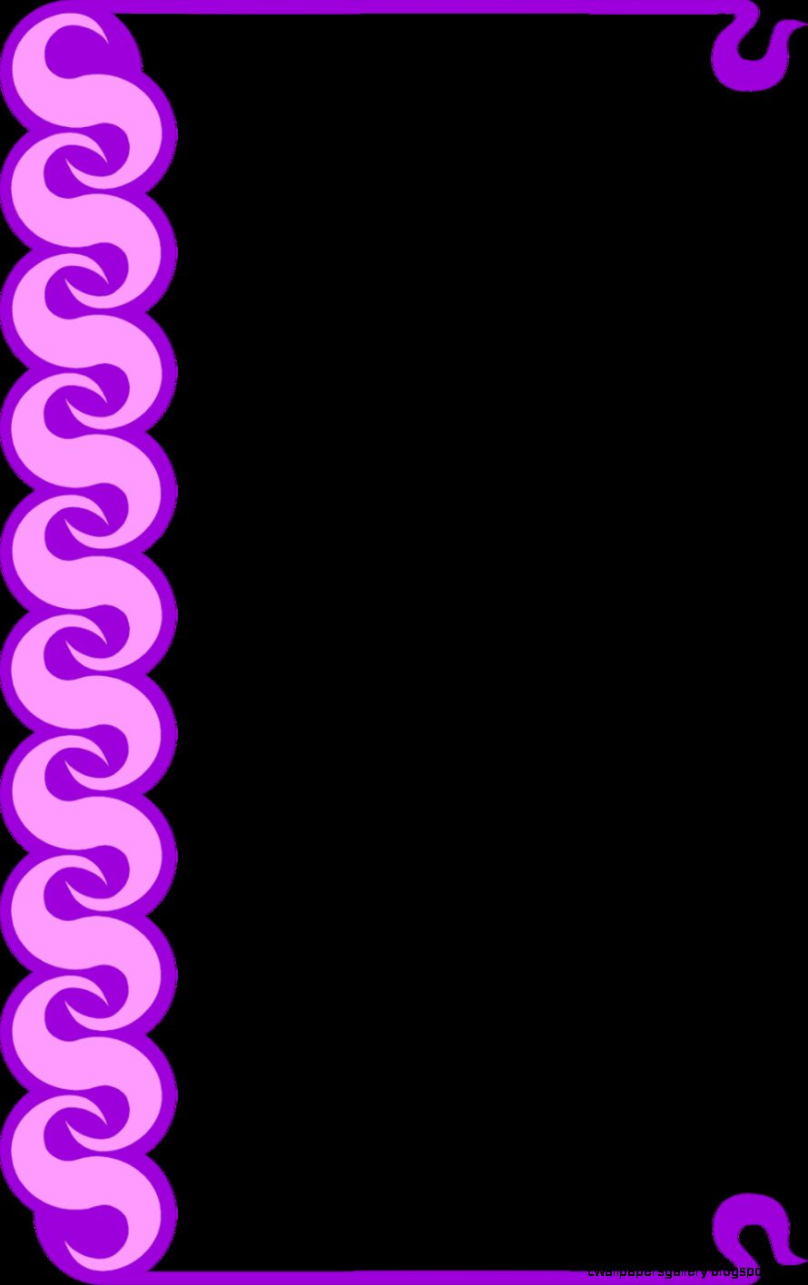 Border Purple  Free Stock Photo  Illustration of a blank frame