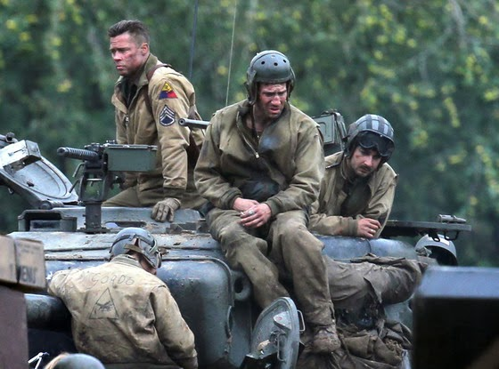 Fury Movie Starring Brad Pitt Teaser Trailer - New official trailer fury starring brad pitt