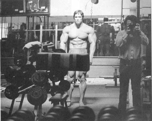 Bodybuilding champions: Arnold Schwarzeneggermemories in