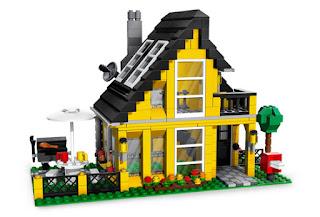 The LEGO House, credit: bc.vt.edu: Virginia Tech: Building Construction: Passive Solar Design of Lego Houses