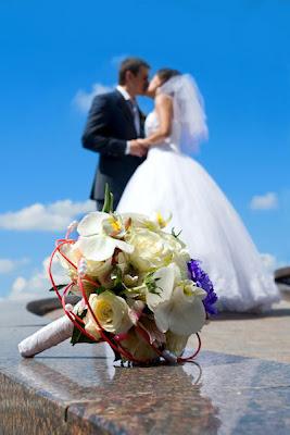 Juntos hasta que la muerte nos separe - Fotos de recién casados - Novios - Wedding