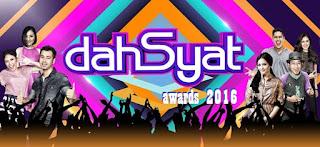 Pemenang dan Nominasi Dahsyat Awards 2016