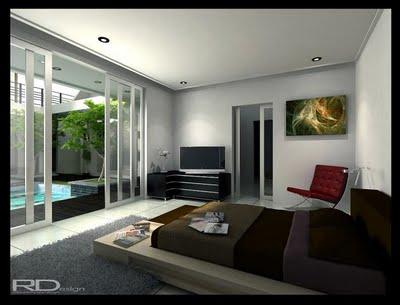 Minimalist Bedroom Design Contemporary and Furniture   Small
