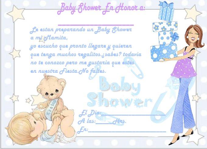 Frases Para Invitaciones De Baby Shower De Nina Alojamiento De ...