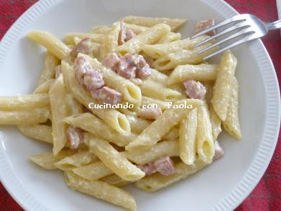 Ricetta pasta wurstel e philadelphia