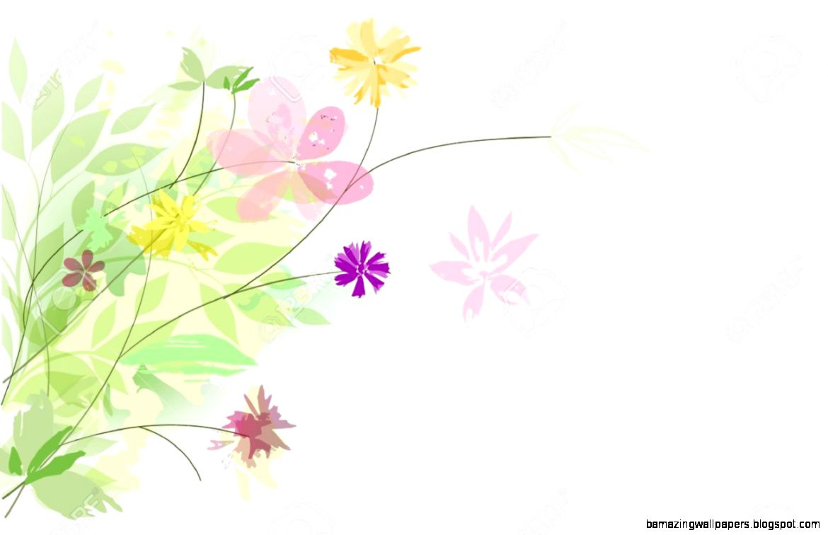 View Original Size Abstract Fl Background Summer Theme Seamless Pattern Wall