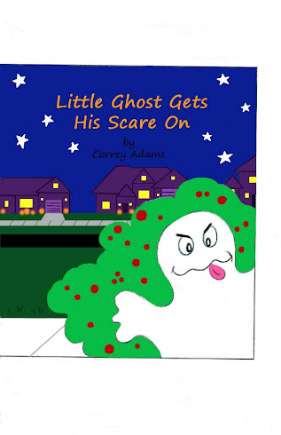 Little Ghost Gets His Scare On