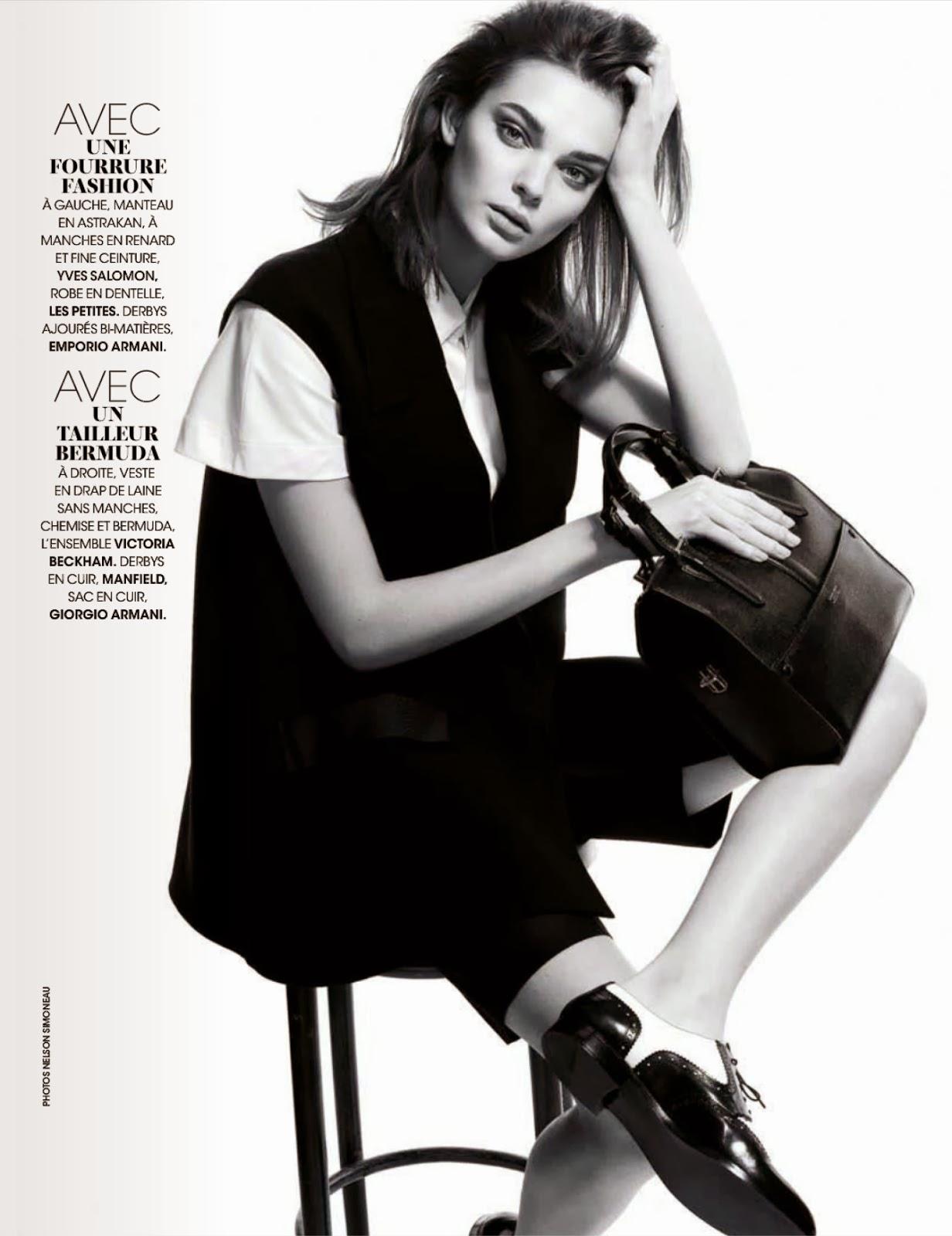 Kersti Pohlak Madame Figaro France Magazine Photoshoot Janvier 2014 HQ Pics