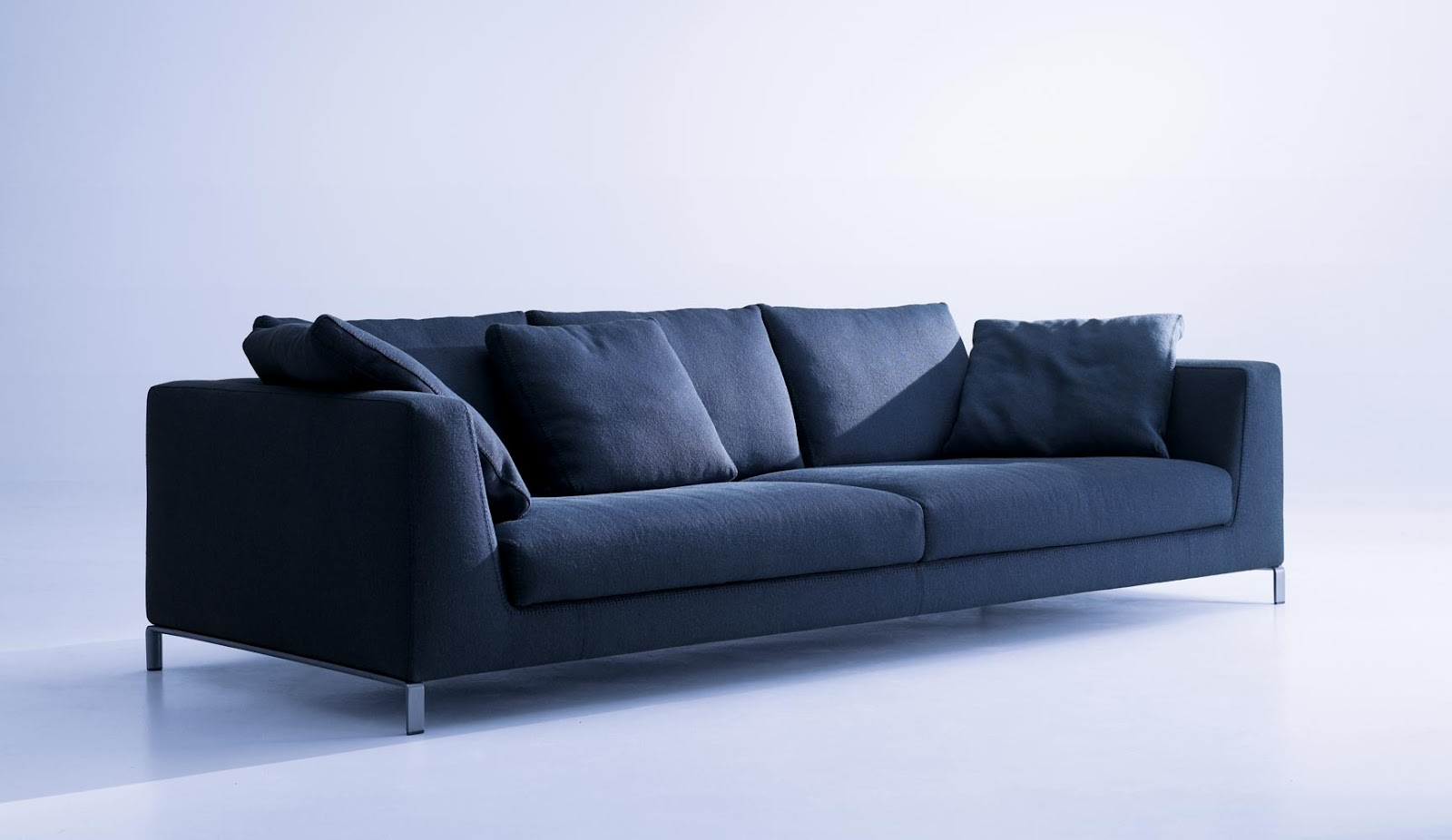 its sense of comfort is expressed through its many soft cushions the exact number of which depends on the image that one wants to convey bb italy furniture