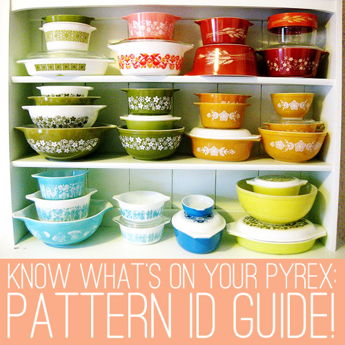 Oh So Lovely Vintage Pyrex Pattern Identification Guide Part 40 Fascinating Rare Pyrex Patterns